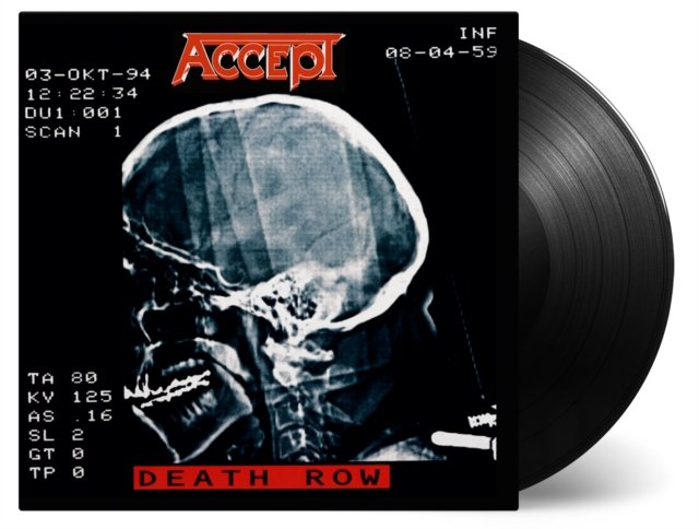 ACCEPT Death Row 2LP