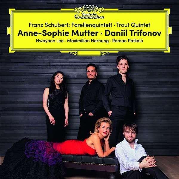 ANNE SOPHIE MUTTER Trout Quintet 2LP