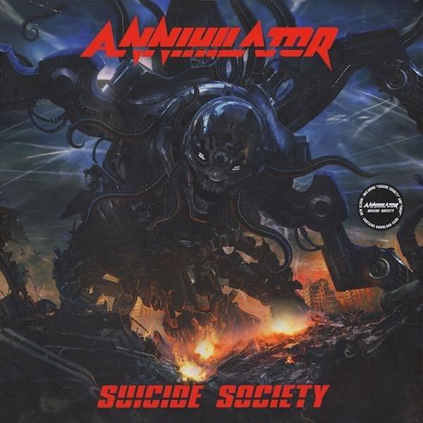 ANNIHILATOR Suicide Society LP