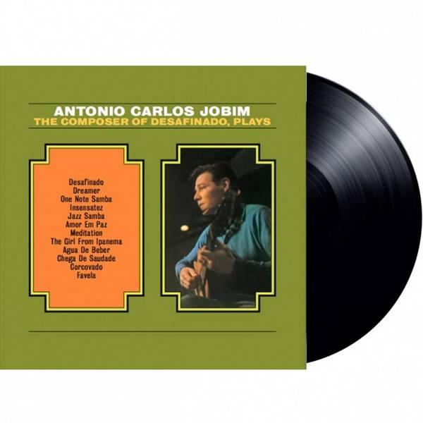 ANTONIO CARLOS JOBIM Composer Of Desafinado Plays LP