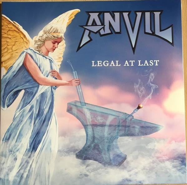 ANVIL Legal At Last Black LP