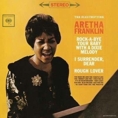 ARETHA FRANKLIN Electrifying Aretha LP