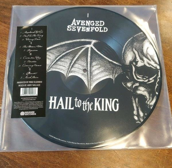 AVENGED SEVENFOLD Hail To The King (PICTURE Vinyl) 2LP