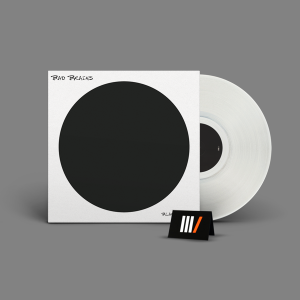 BAD BRAINS Black Dots LP WHITE