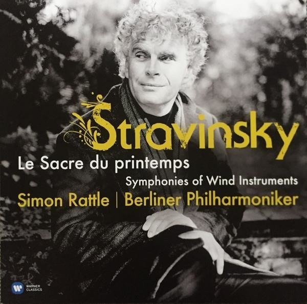 BERLINER PHILHARMONIKER / SIR SIMON RATTLE Stravinsky: The Rite Of The Spring LP