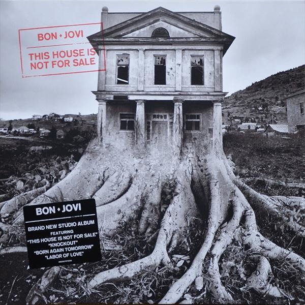 BON JOVI This House Is Not For Sale LP
