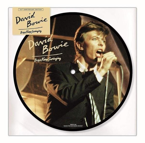 BOWIE, DAVID Boys Keep Swinging VINYL SINGLE