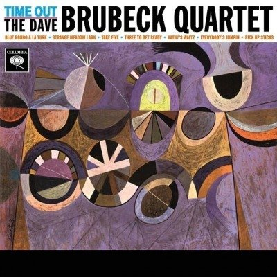 BRUBECK, DAVE -QUARTET- Time Out LP