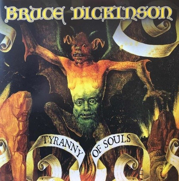 BRUCE DICKINSON Tyranny Of Souls 2LP