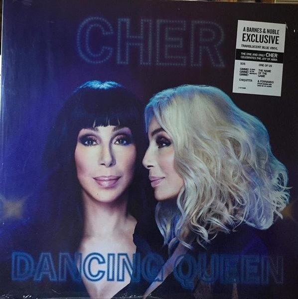 CHER Dancing Queen (TRANSPARENT Blue Vinyl) LP