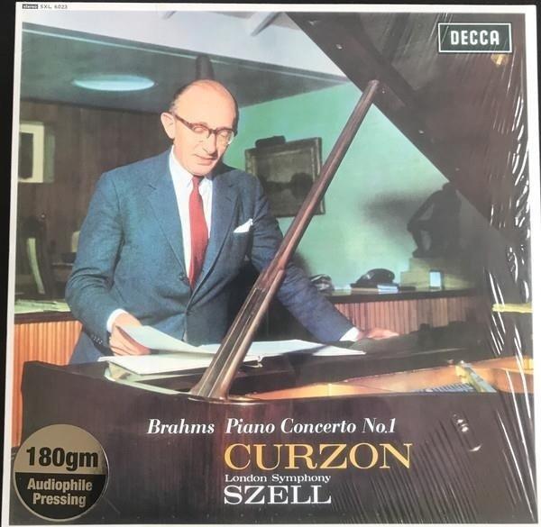 CLIFFORD CURZON Brahms Piano Concerto LP