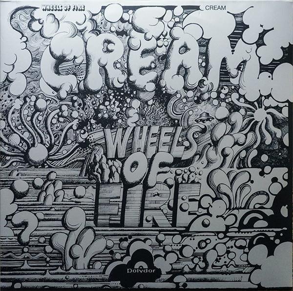 CREAM Wheels Of Fire  2LP
