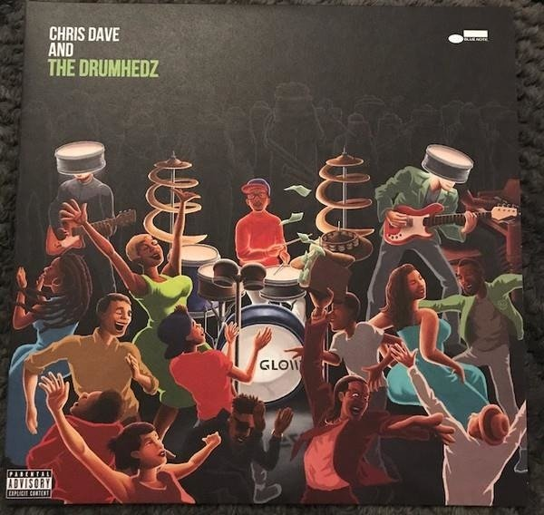 DAVE CHRIS AND THE DRUMHEDZ Chris Dave And The Drumhedz 2LP