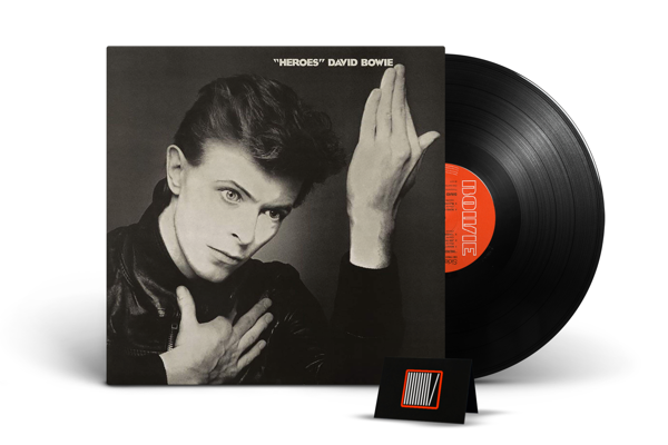 DAVID BOWIE Heroes (2017 Remastered Version) LP