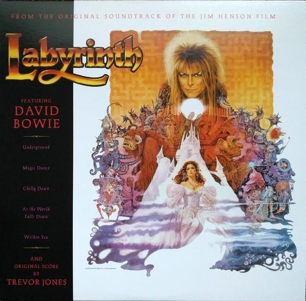 DAVID BOWIE & TREVOR JONES Labyrinth  LP