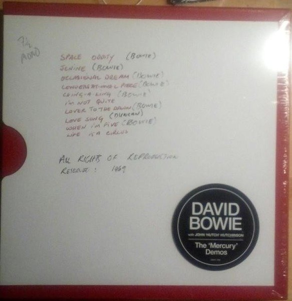 DAVID BOWIE The 'MERCURY Demos' (BLACK Vinyl Album Box) LP