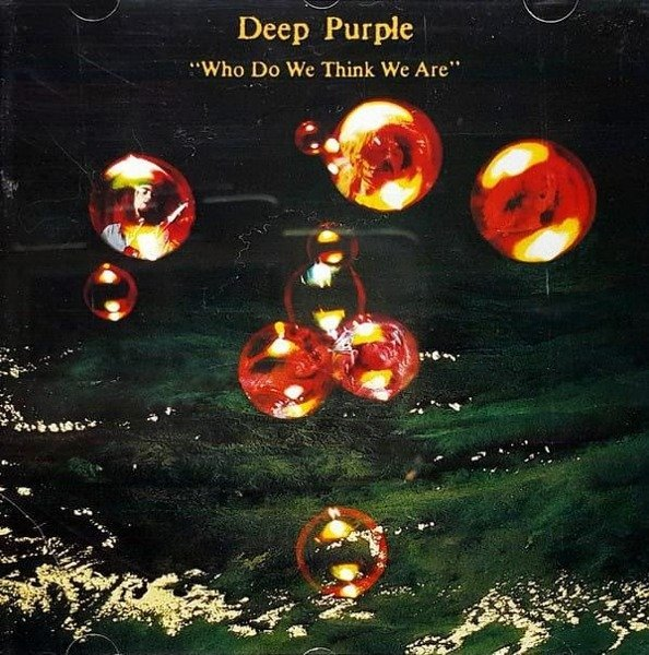DEEP PURPLE Who Do We Think We Are LTD LP