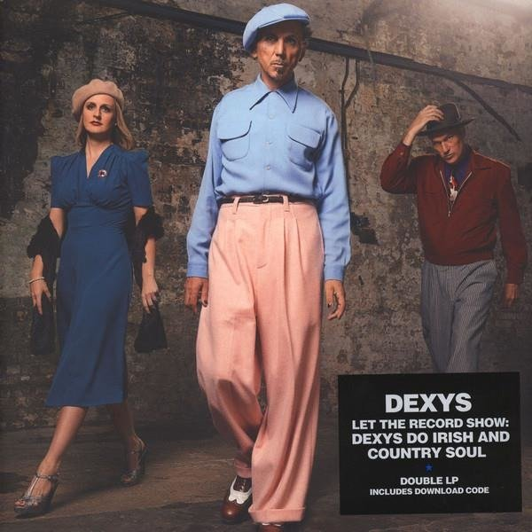 DEXYS MIDNIGHT RUNNERS Let The Record Show That Dexys Do Irish & Country Soul 2LP