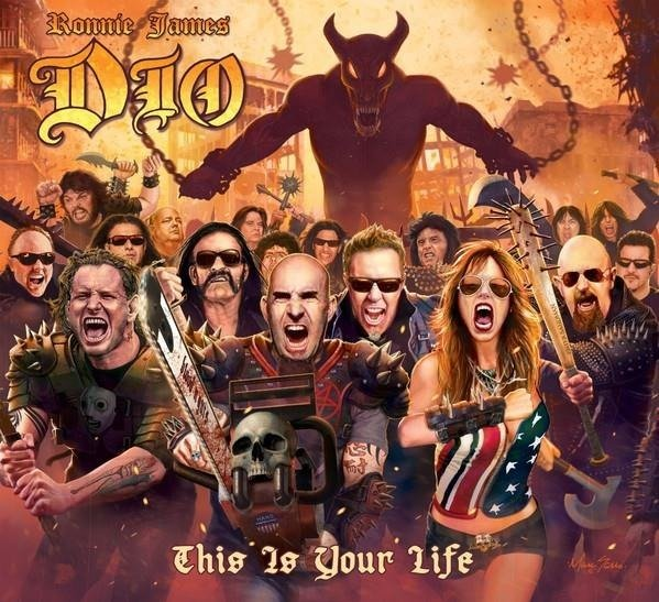DIO, RONNIE JAMES Roonie James Dio - This Is Your Life LP