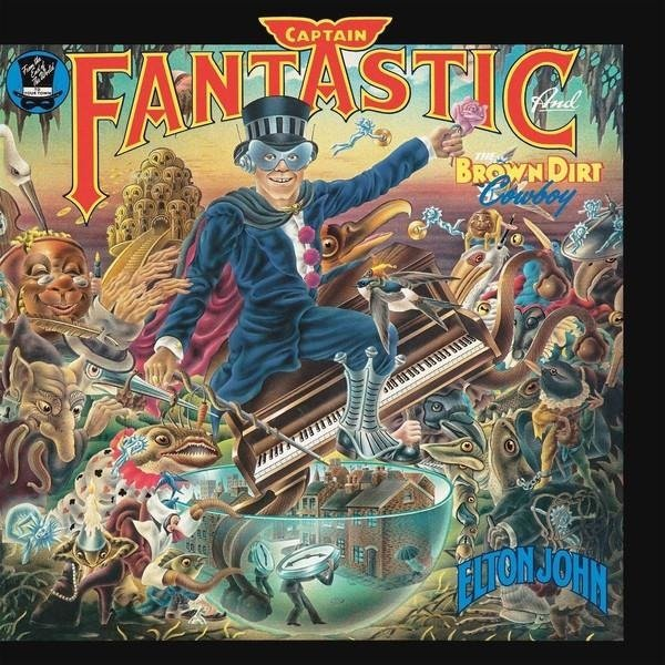 ELTON JOHN Captain Fantastic And The Brown Dirt Cowboy LP