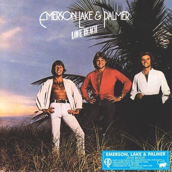 EMERSON, LAKE & PALMER Love Beach LP