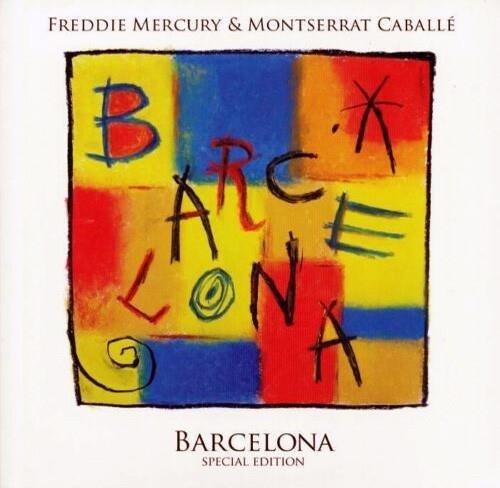 FREDDIE MERCURY & MONTSERRAT CABALLE Barcelona LP