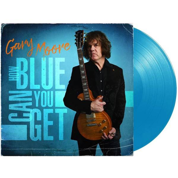 GARY MOORE How Blue Can You Get LP BLUE VINYL