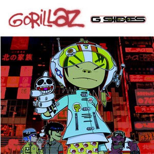 GORILLAZ G-Sides (BLACK Vinyl Album) LP RSD