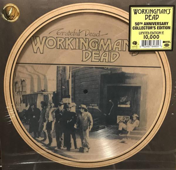 GRATEFUL DEAD Workingman's Dead LP Picture Disc