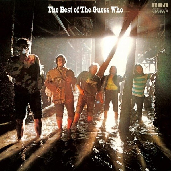 GUESS WHO Best of the Guess Who LP