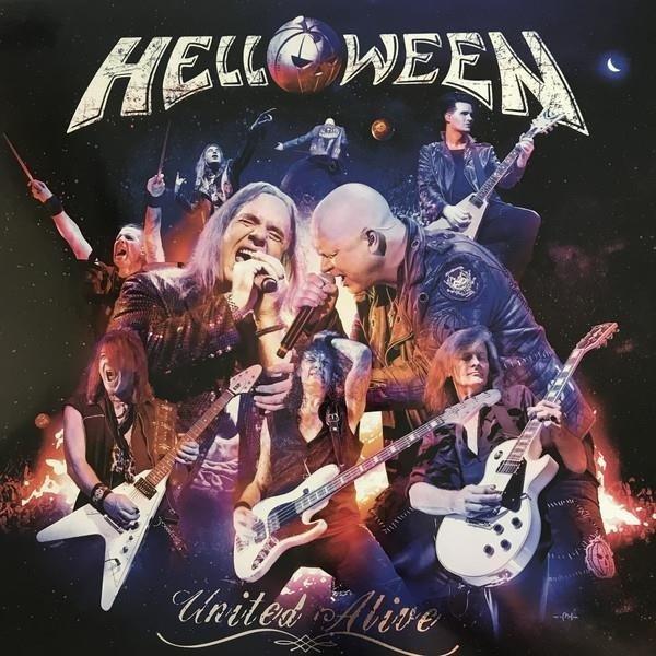 HELLOWEEN United Alive Vinyl Box BOXSET