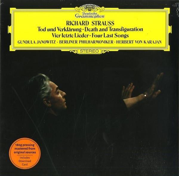 HERBERT VON KARAJAN R. Strauss: Death And Tranfiguration, Four Last Songs LP