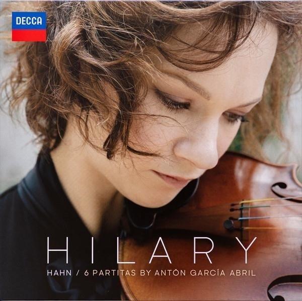 HILARY HAHN 6 Partitas By Anton Garcia Abril LP