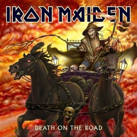 IRON MAIDEN Death On The Road (LP Live) 2LP