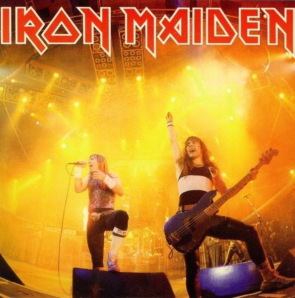IRON MAIDEN Running Free - Live (7') - Limited VINYL SINGLE
