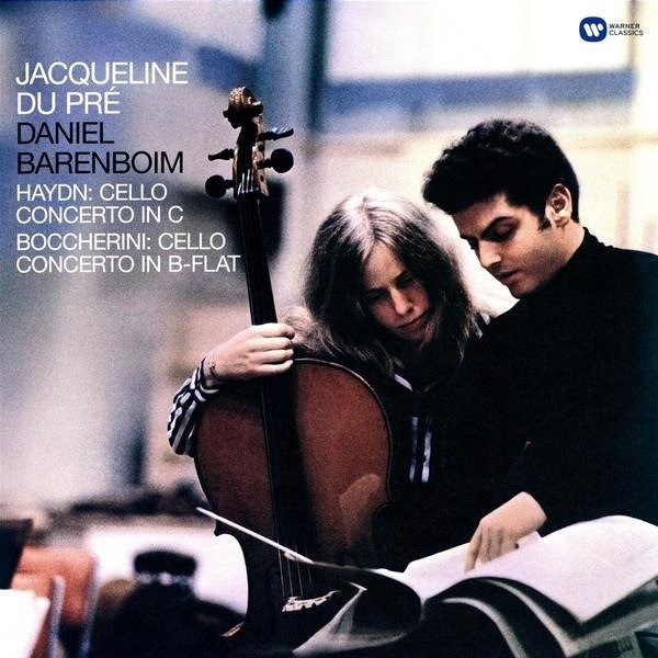 JACQUELINE DU PRE Haydn: Cello Concerto In C / Boccherini: Cello Concerto LP