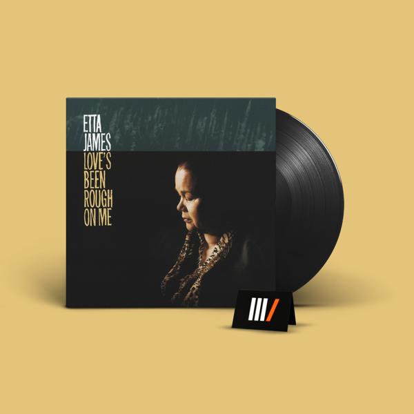 JAMES, ETTA Love's Been Rough On Me LP