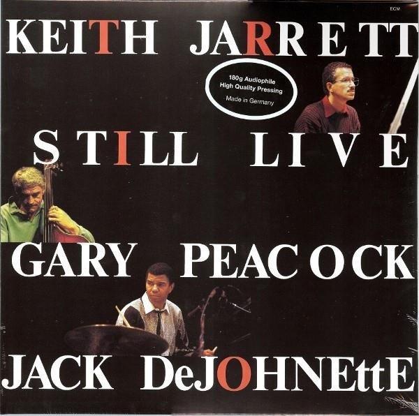 JARRETT, PEACOCK, DEJOHNETTE Still Live 180g  2LP