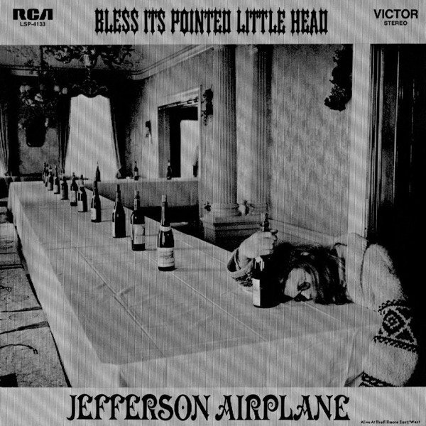 JEFFERSON AIRPLANE Bless It's Pointed Little Head LP