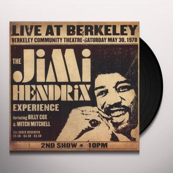 JIMI HENDRIX Live At Berkeley 2LP