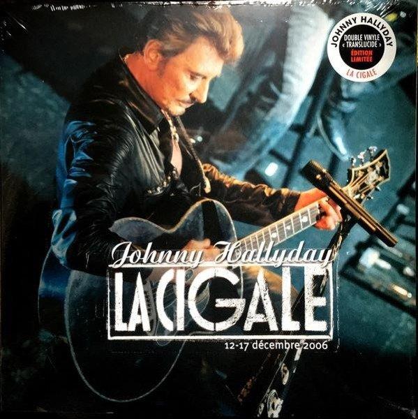 JOHNNY HALLYDAY Flashback Tour La Cigale 2LP