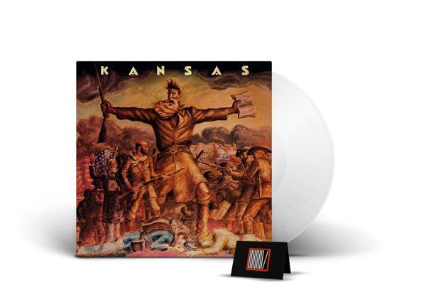 KANSAS Kansas LP CLEAR VINYL