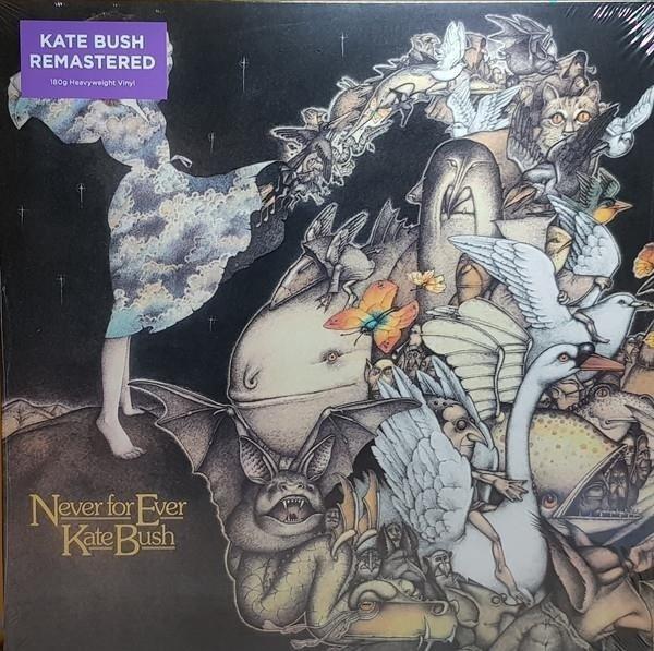 KATE BUSH Never For Ever LP