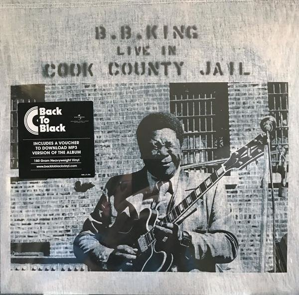 KING, B.B. Live In Cook County Jail LP