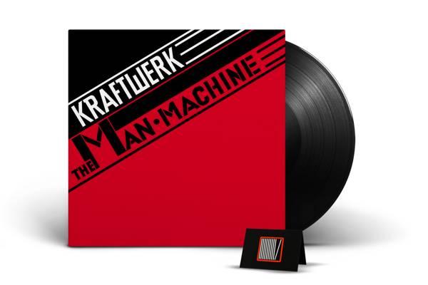 KRAFTWERK The Man Machine (2009 Edition) LP