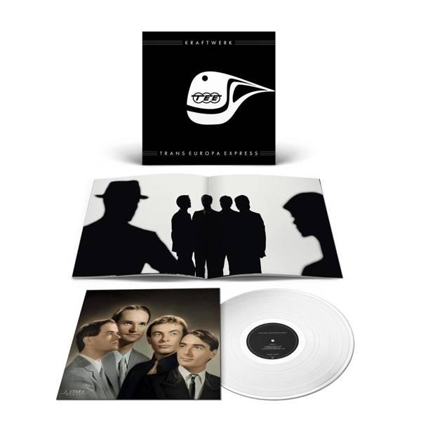 KRAFTWERK Trans-Europa Express LP Clear Vinyl (GERMAN)