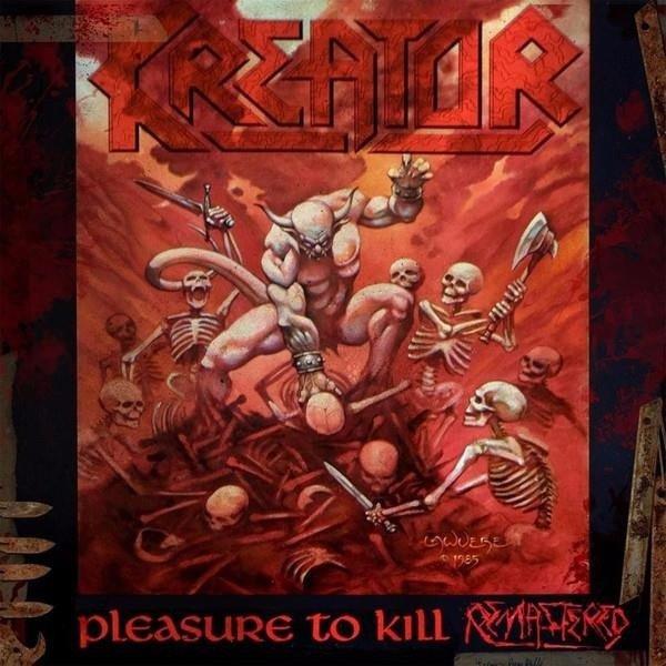 KREATOR Pleasure To Kill 2LP