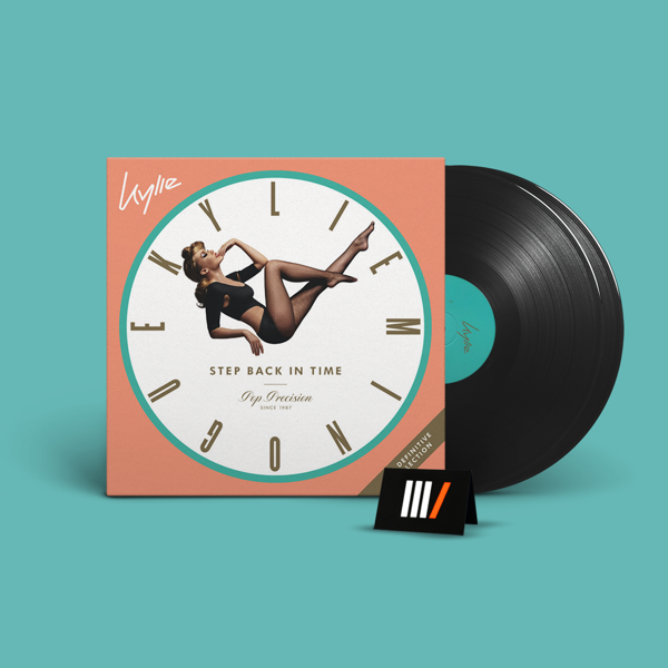 KYLIE MINOGUE Step Back In Time: The Definitive Collection 2LP