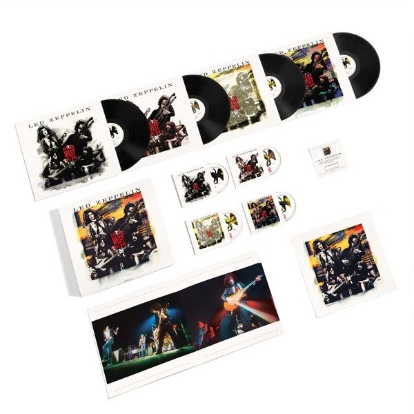 LED ZEPPELIN How The West Was Won 4LP+3CD+DVD BOX