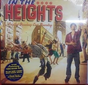 LIN-MANUEL MIRANDA In The Heights 3LP